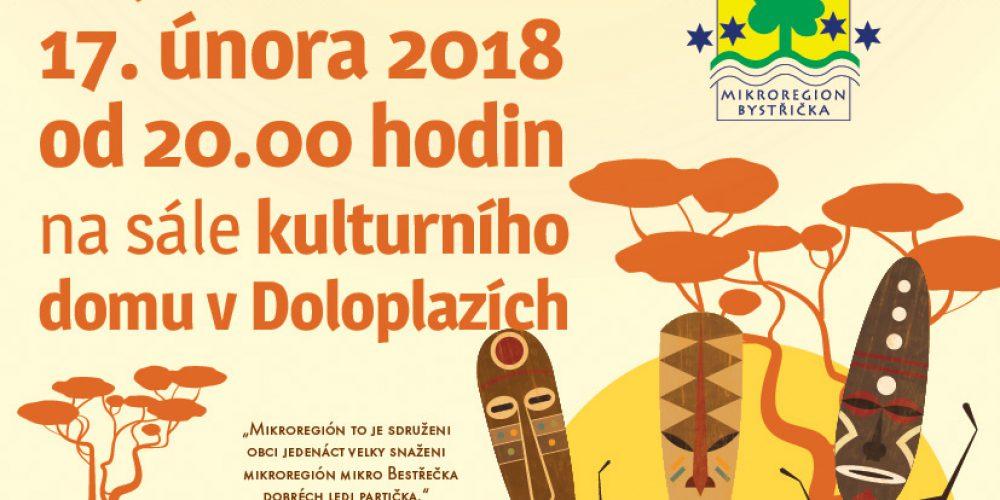 Ples Mikroregonu Bystřička – 17.2.2018